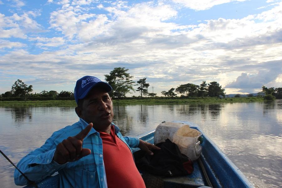 Foto: Robinson Cárdenas: pescador artesanal de Cantagallo, Bolívar