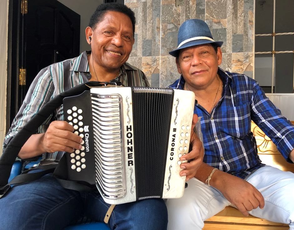 Israel y Rosendo Romero / Foto: Laura Ramírez.