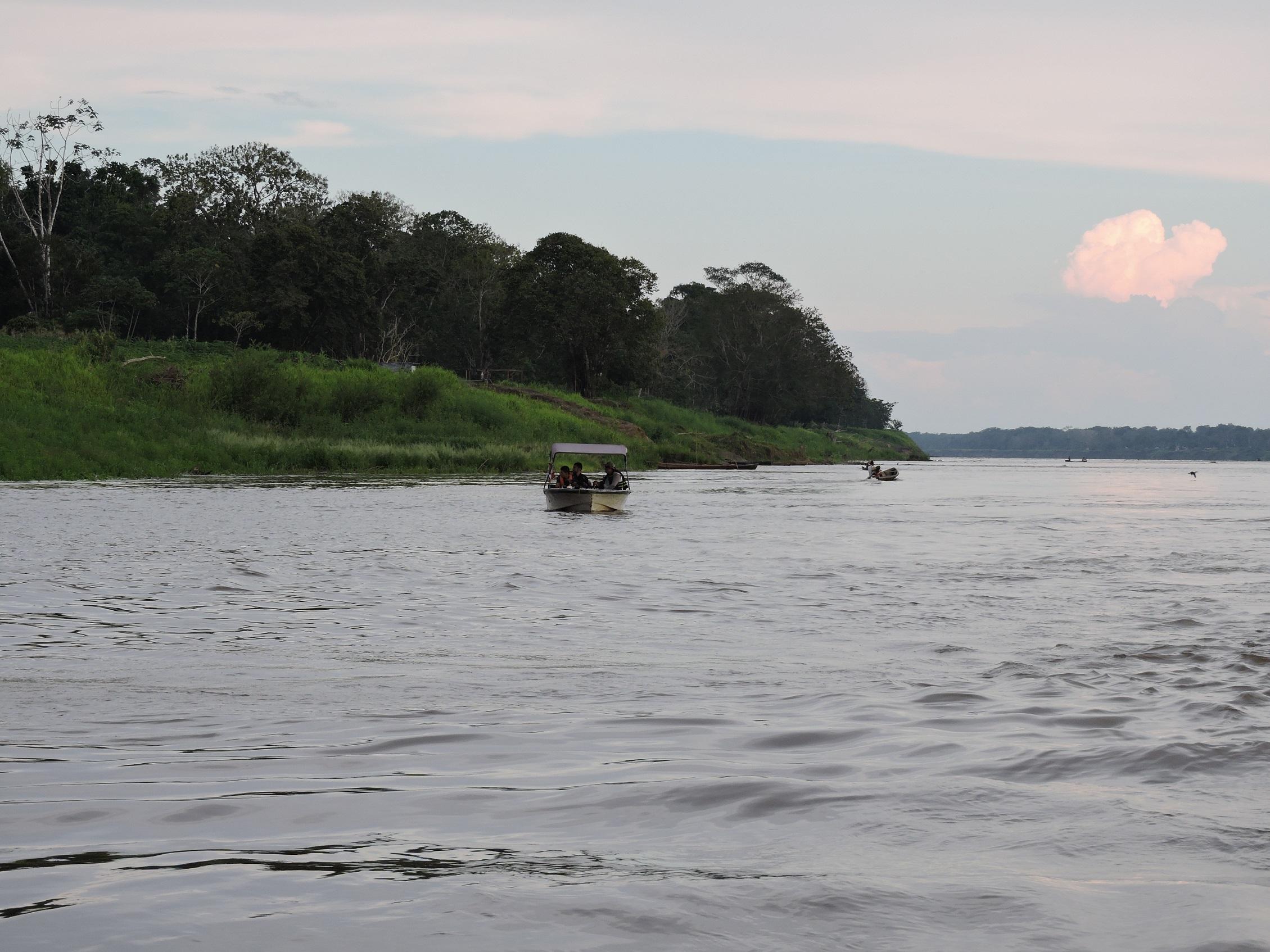 El río Amazonas. Foto: Mónica Morales (Instituto Humboldt).