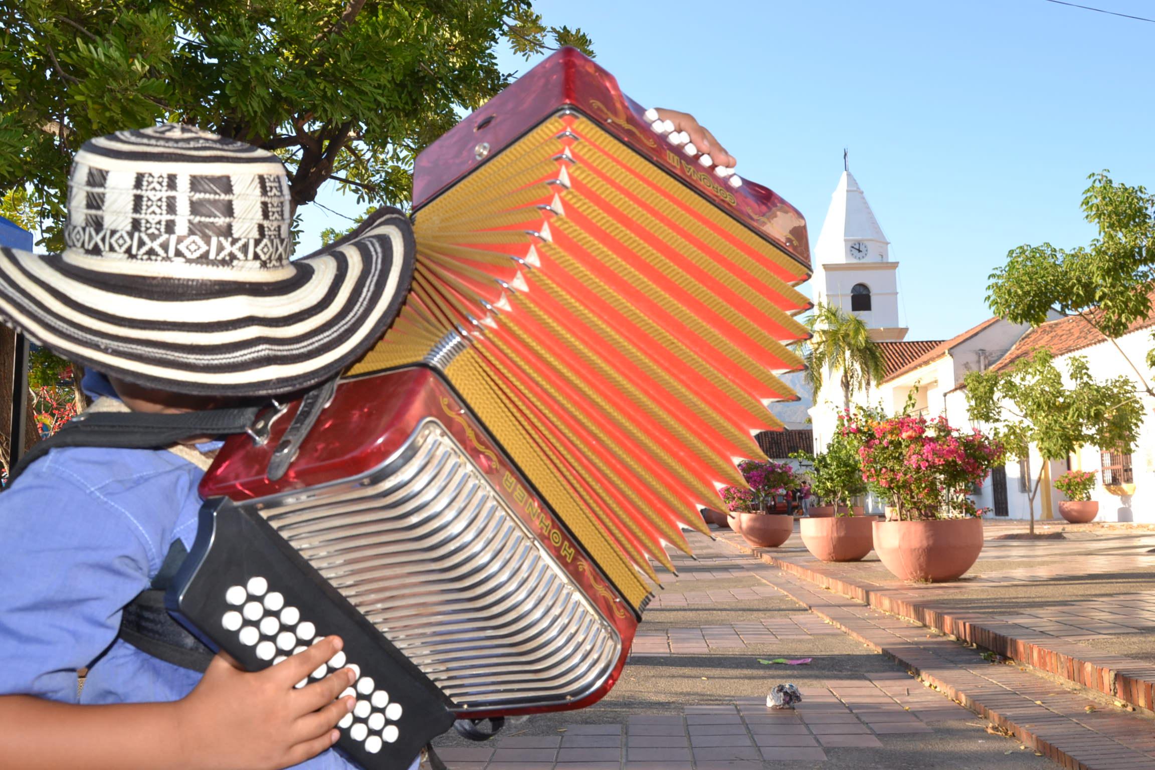 En zonas como Cesar, se destacan el Festival de la Leyenda Vallenata, que se realiza en Valledupar. Foto: Colprensa. Marzo 2018.