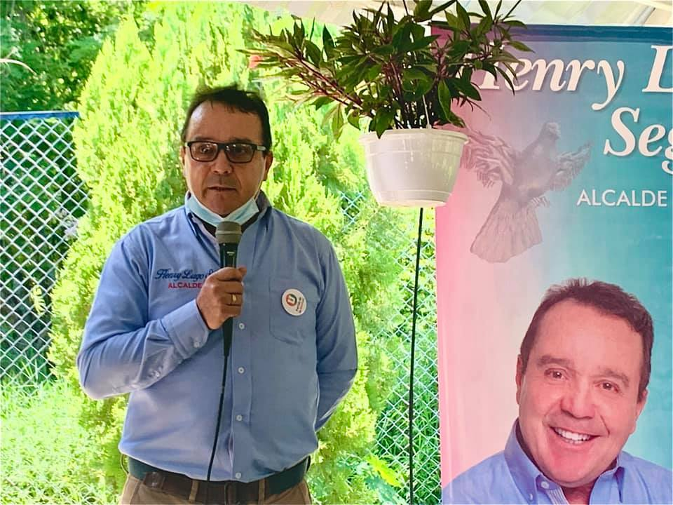 Nuevo alcalde Henry Lugo Segura