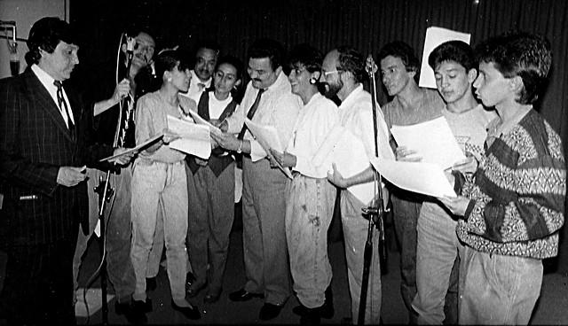 Foto: Radionovelas de la Radiodifusora Nacional. Archivo particular