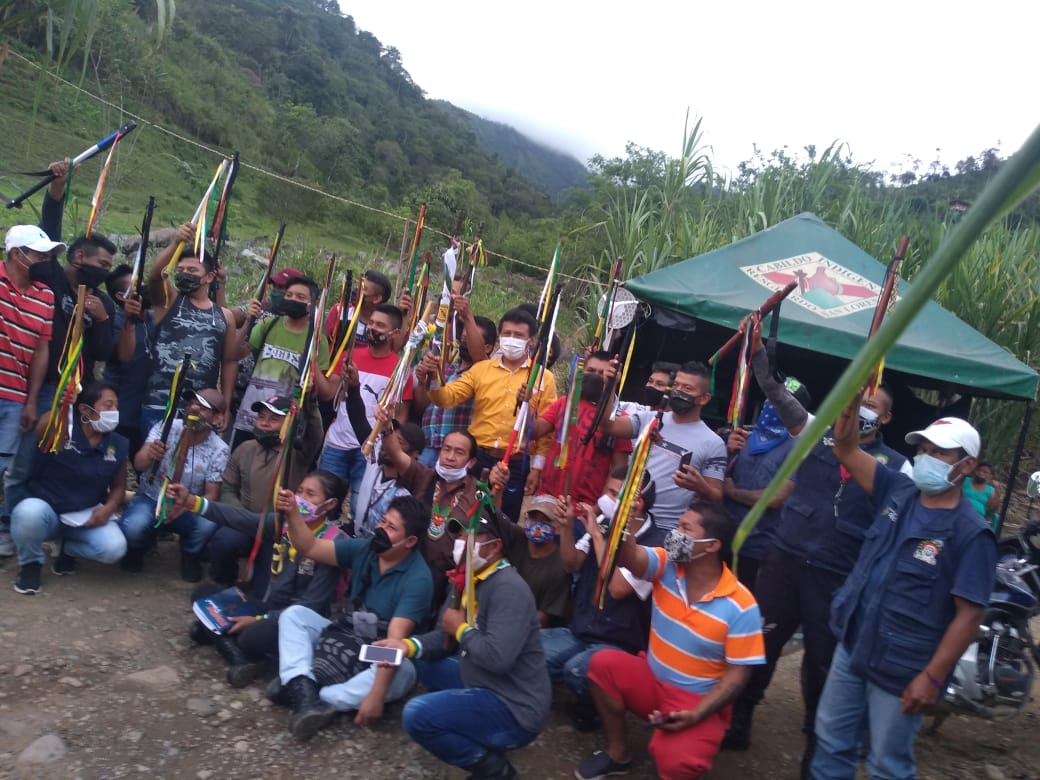 Foto: Cortesía Resguardo Indígena San Lorezno