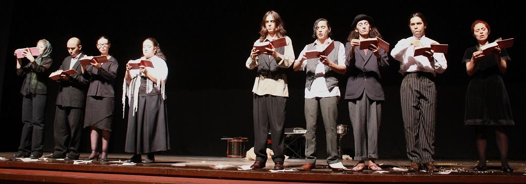 Obra Fernando González, velada metafísica. Foto: Teatro Matacandelas