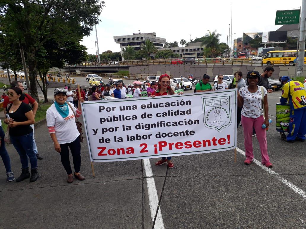 Foto: Sindicato de Educadores de Risaralda.