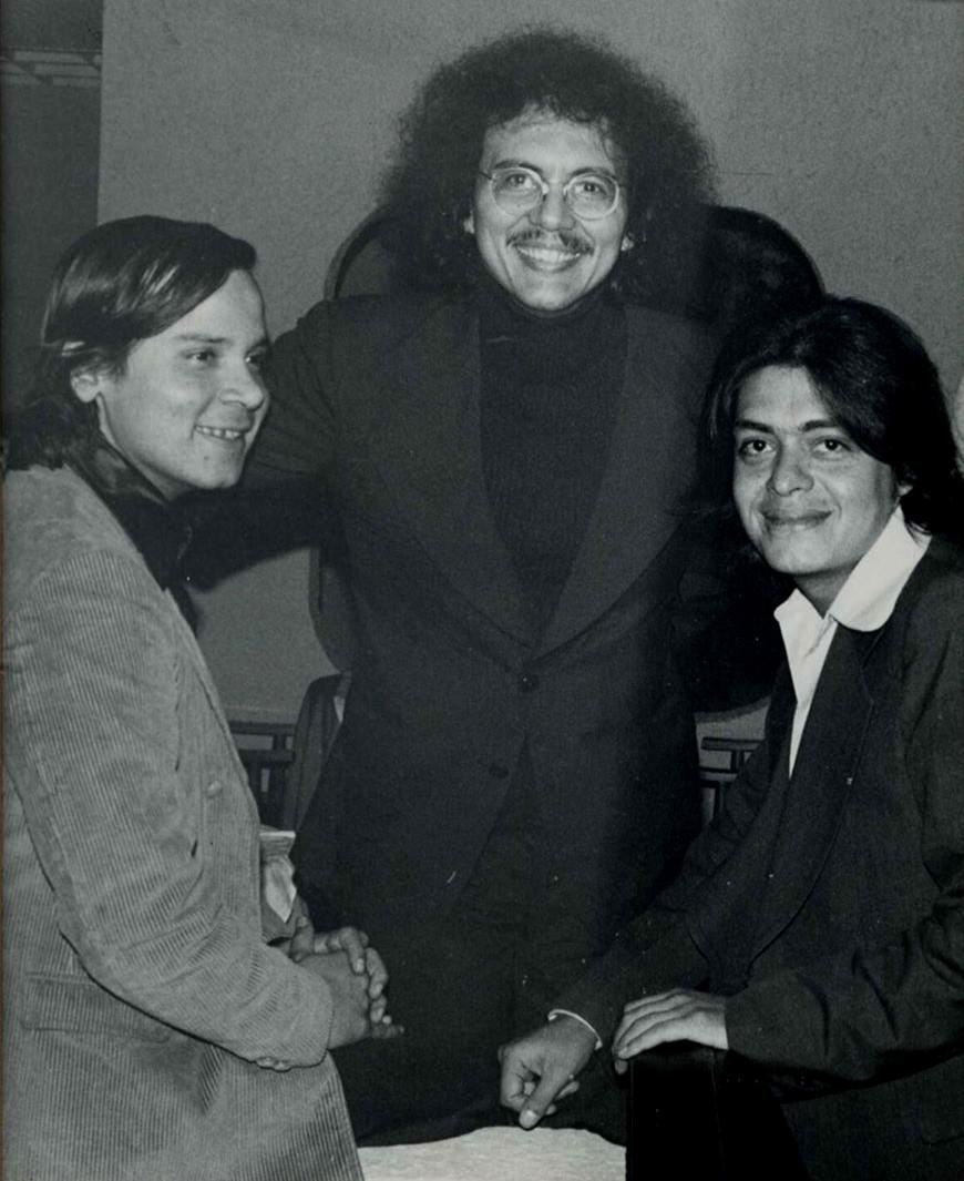 Jorge Guarín, Gabriel Rondón y Javier Aguilera