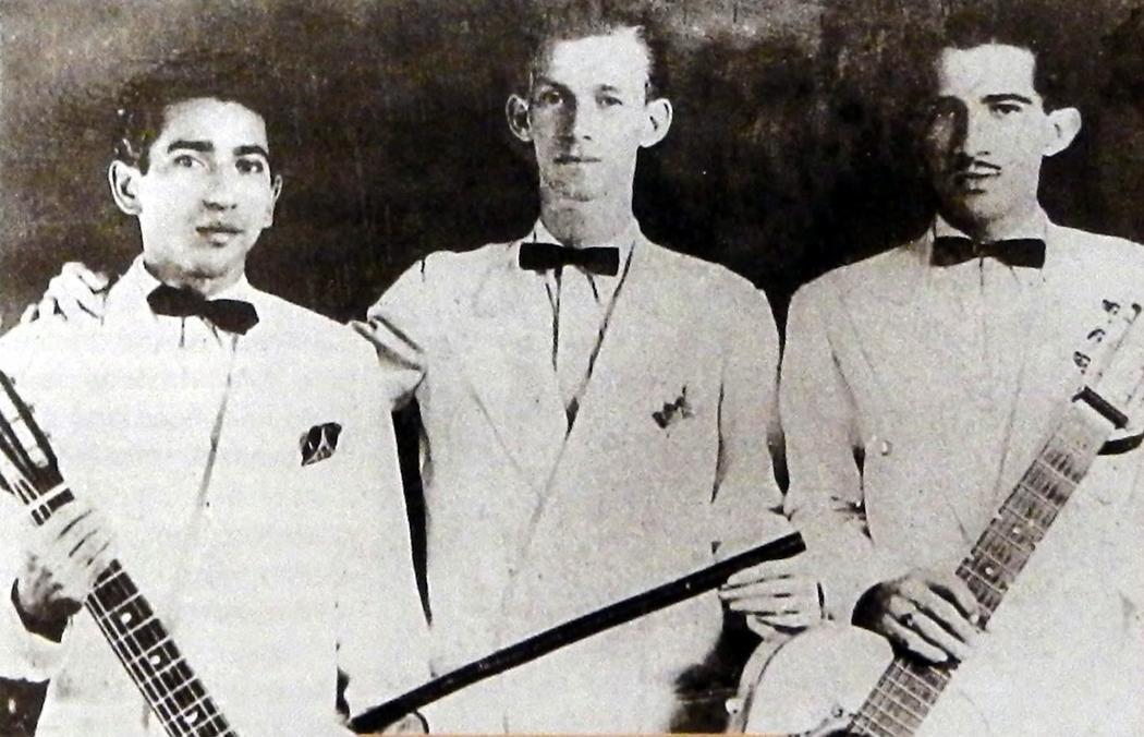Guillermo Buitrago y sus muchachos.