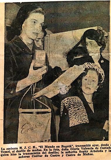 Gloria Valencia de Castaño. Foto: archivo particular HJCK.