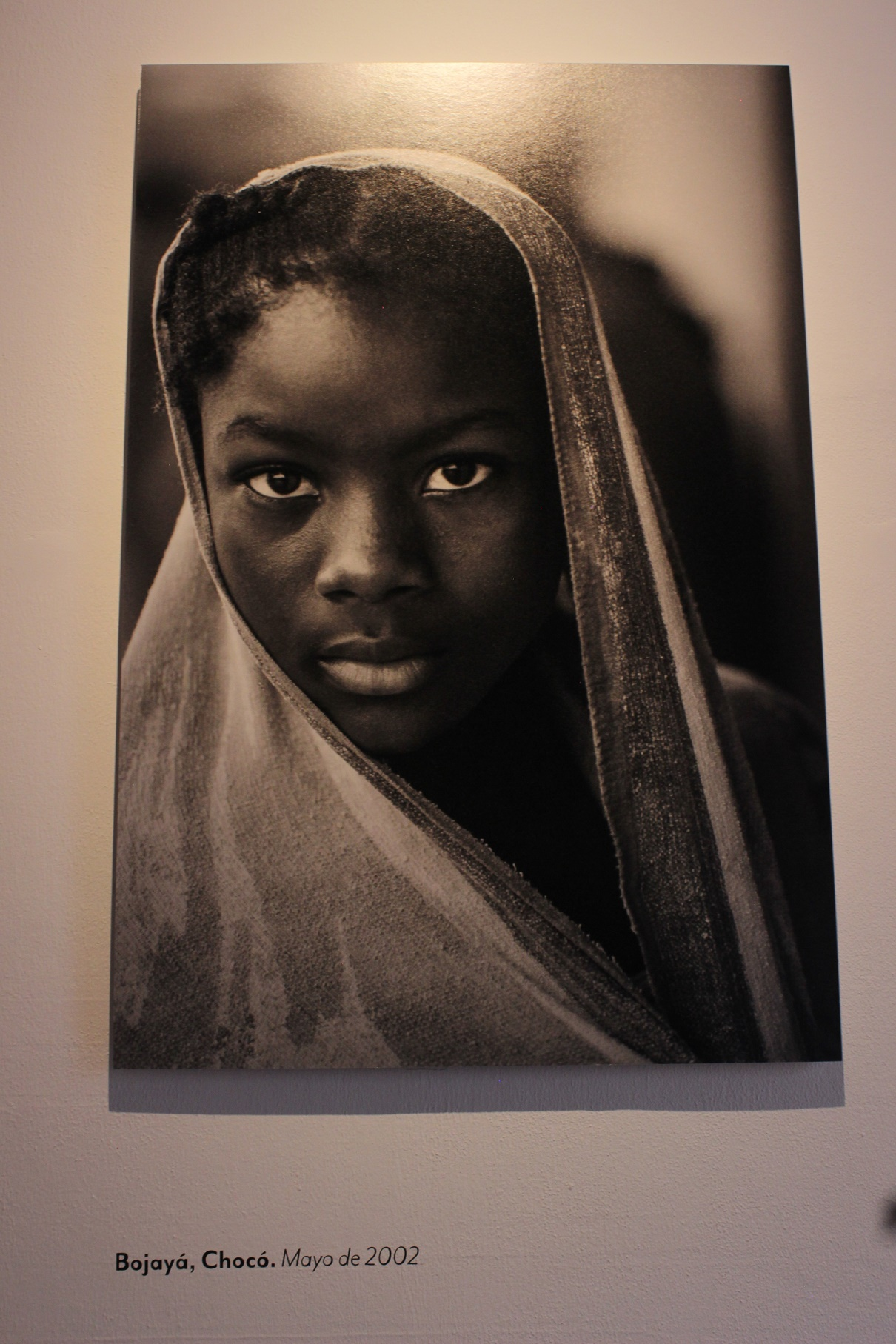Foto de la exposición 'El testigo'. Foto: Nangibe Torres.