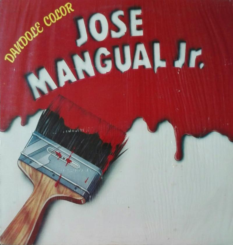 Portada del disco 'Dándole color' de José Mangual Jr.