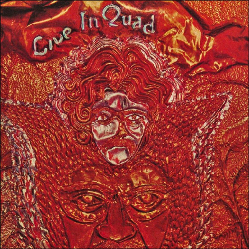Portada del disco 'Live in quad' de Larry Harlow.