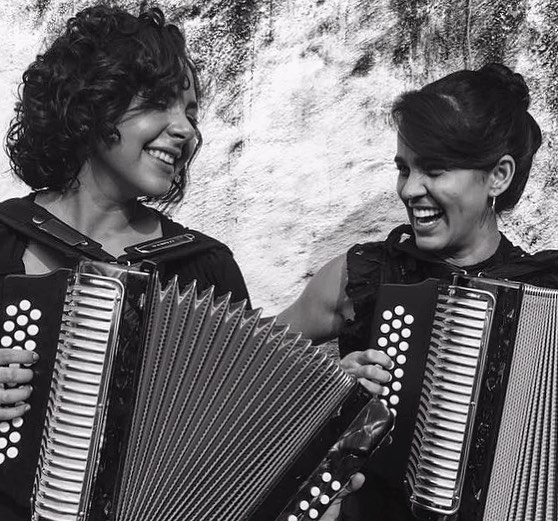 Diana Burco y Mimi Anaya. Foto: Facebook Diana Burco.