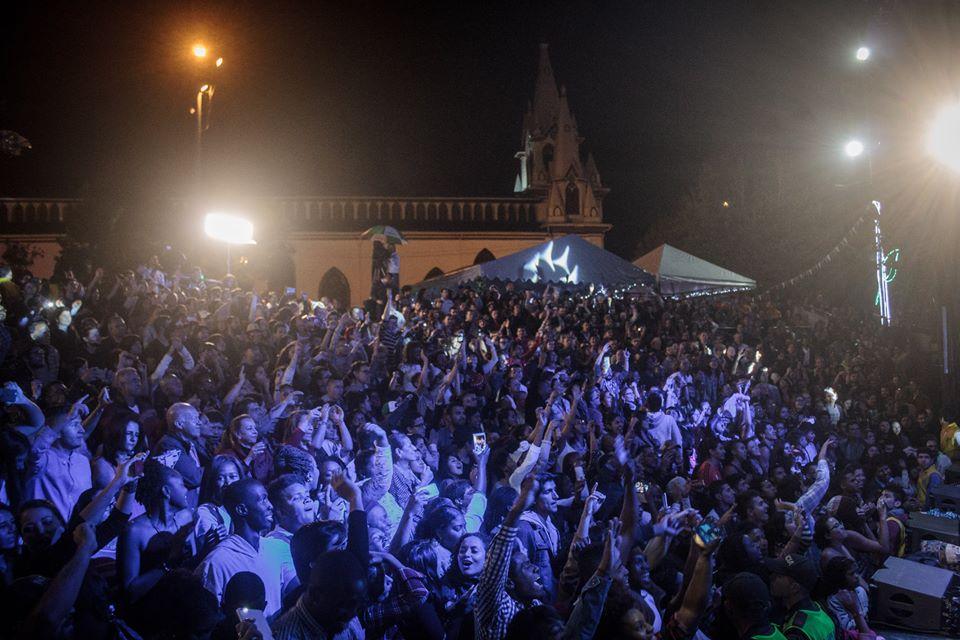 Noche Radio Nacional de Colombia. Manizales 2016