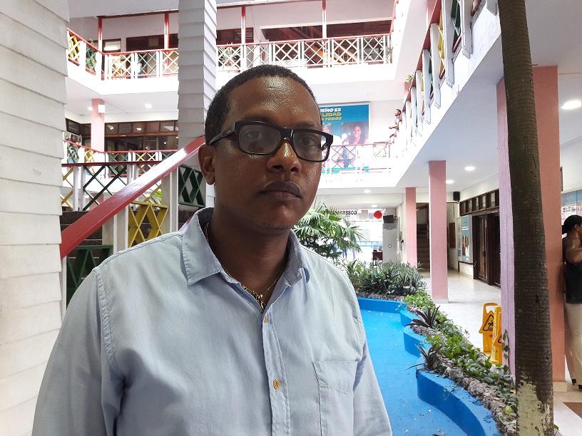 Joseph Barrera Kelly, director de la Oficina de Control, Circulación y Residencia, Occre.