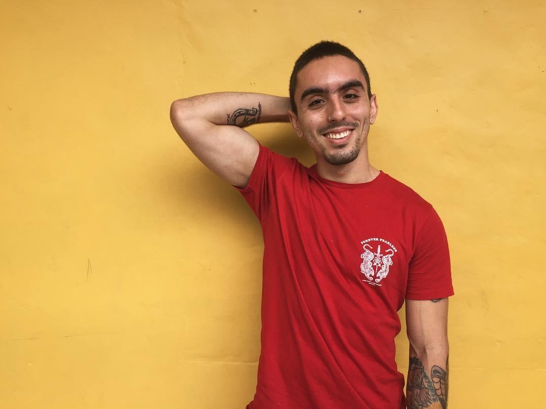Foto: Miguel Ángel López, activista VIH y cofundador de la Fundación ´Más que tres letras'.