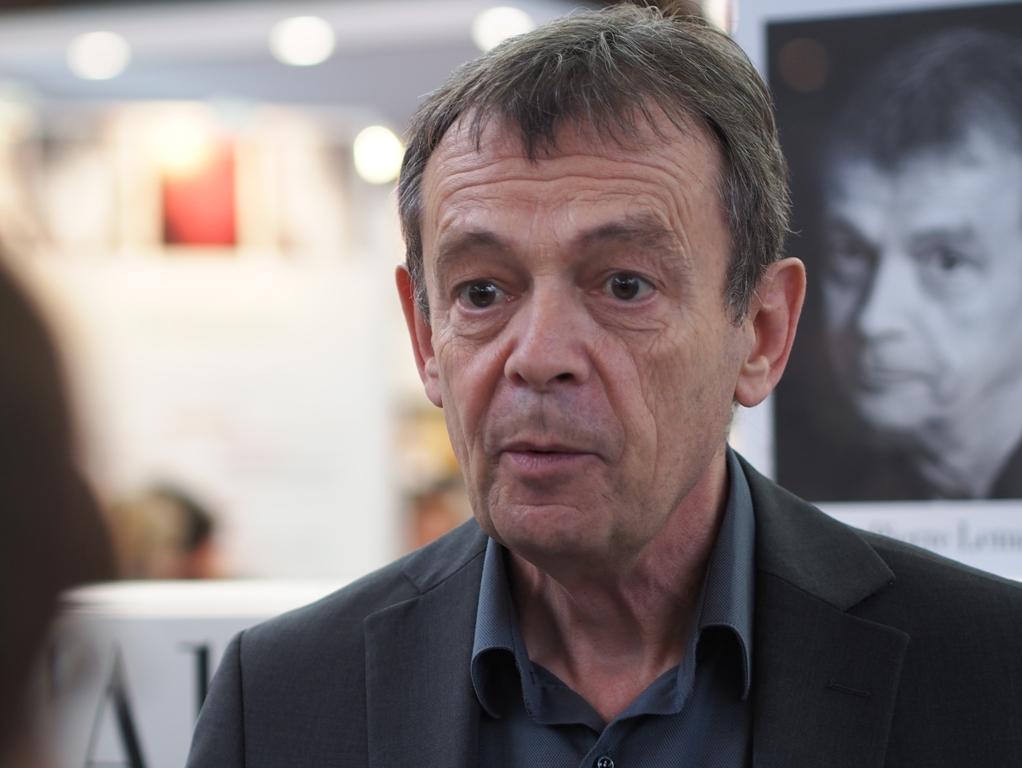 El escritor francés Pierre Lemaître, ganador del premio Goncourt 2013. Foto: CC Wikipedia