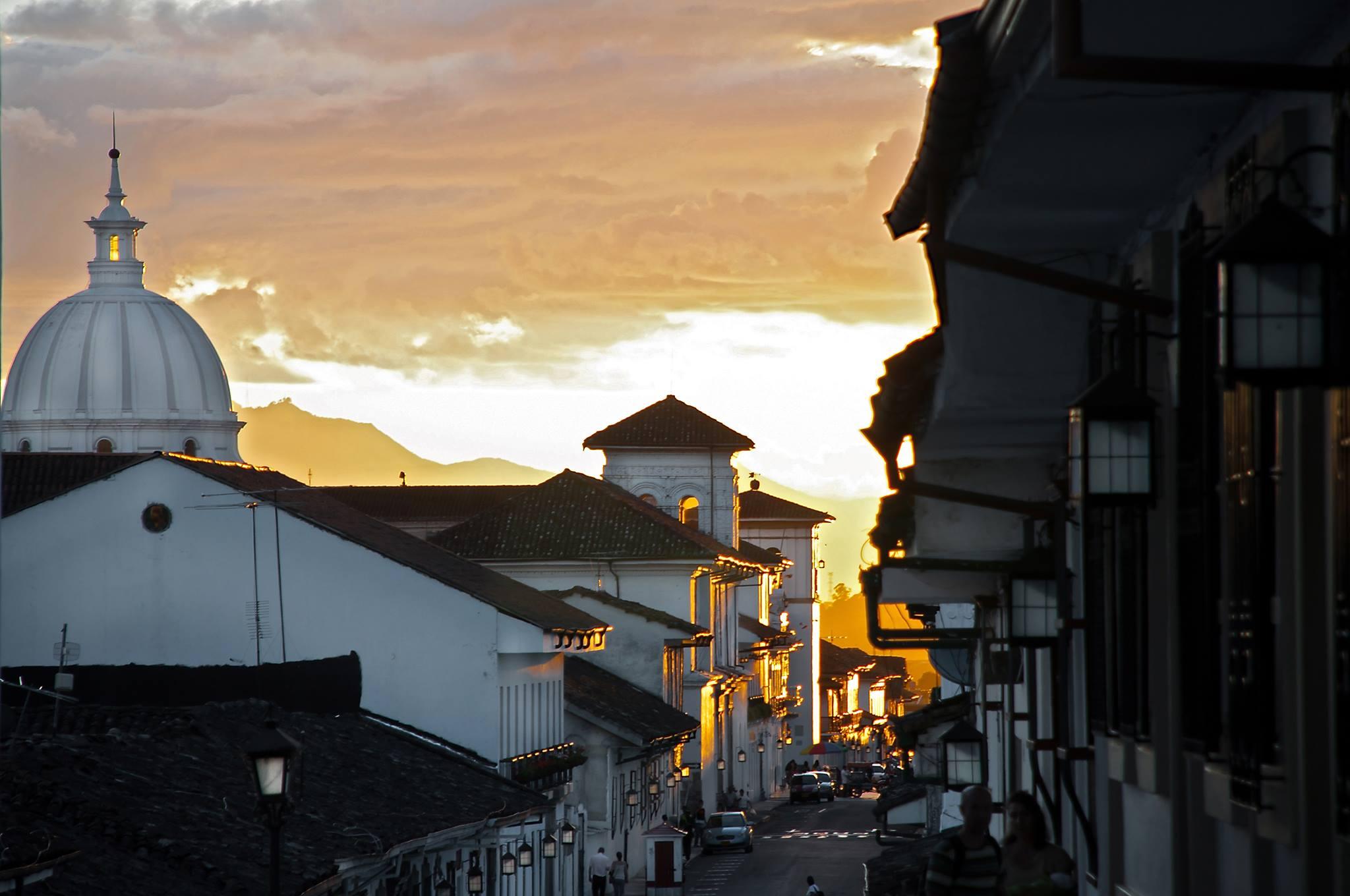 La Semana Santa tiene una celebración especial en Popayán, capital del Cauca. Foto: Gobernación del Cauca.