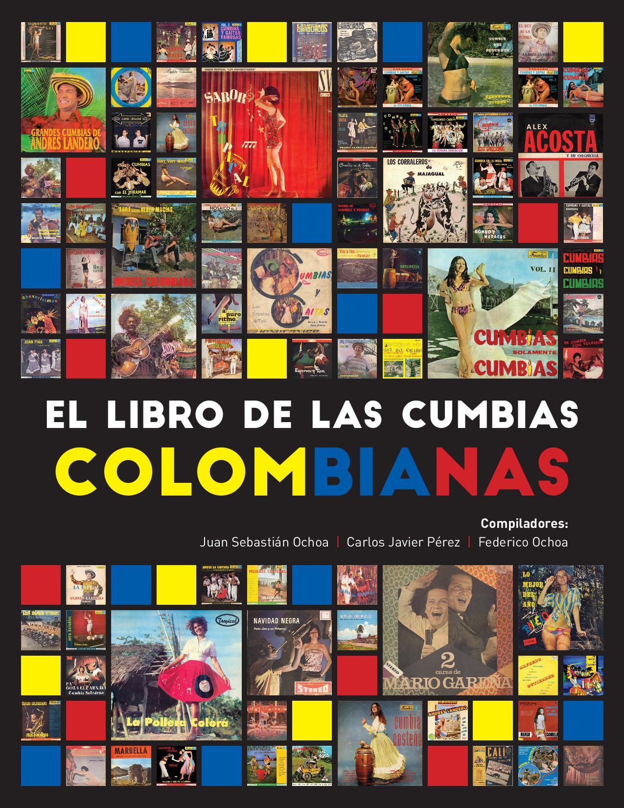 Portada de 'El libro de cumbias colombianas'.