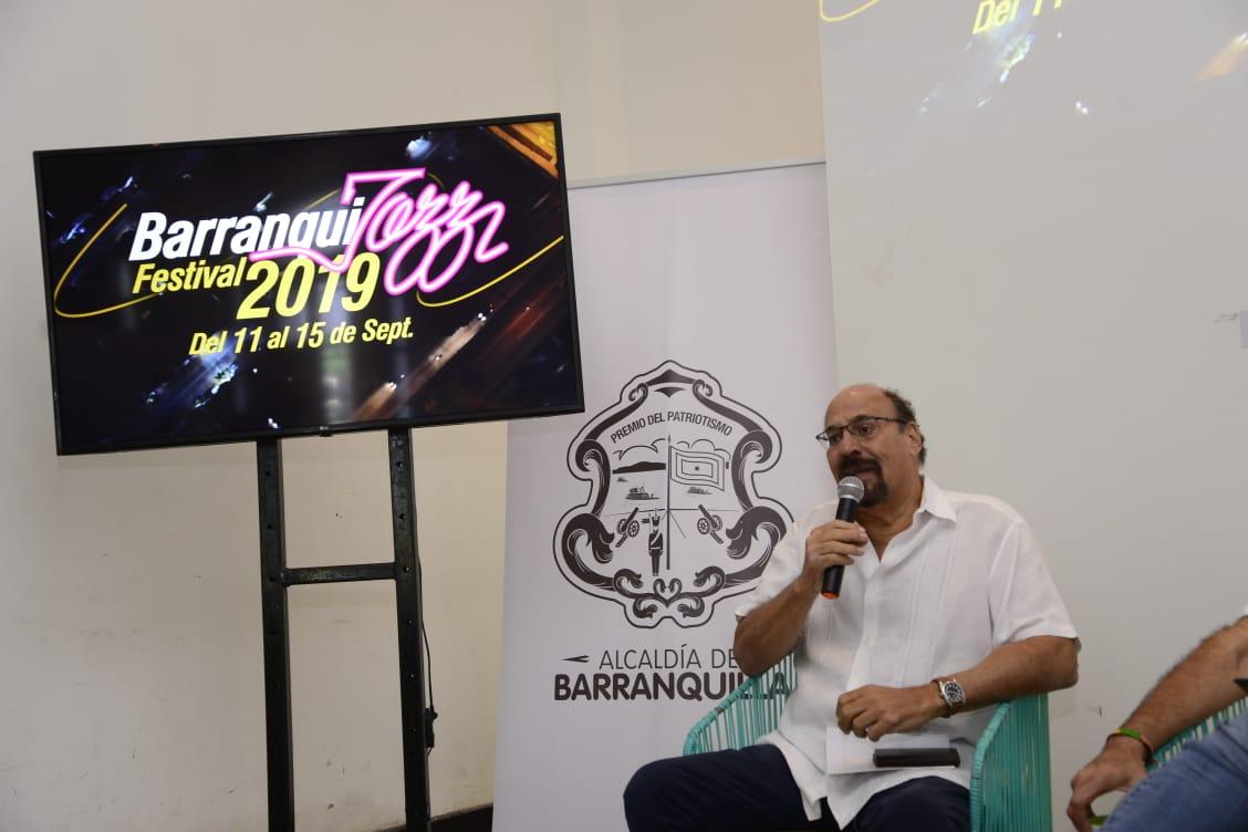 Samuel Minski, director del Barranquijazz.