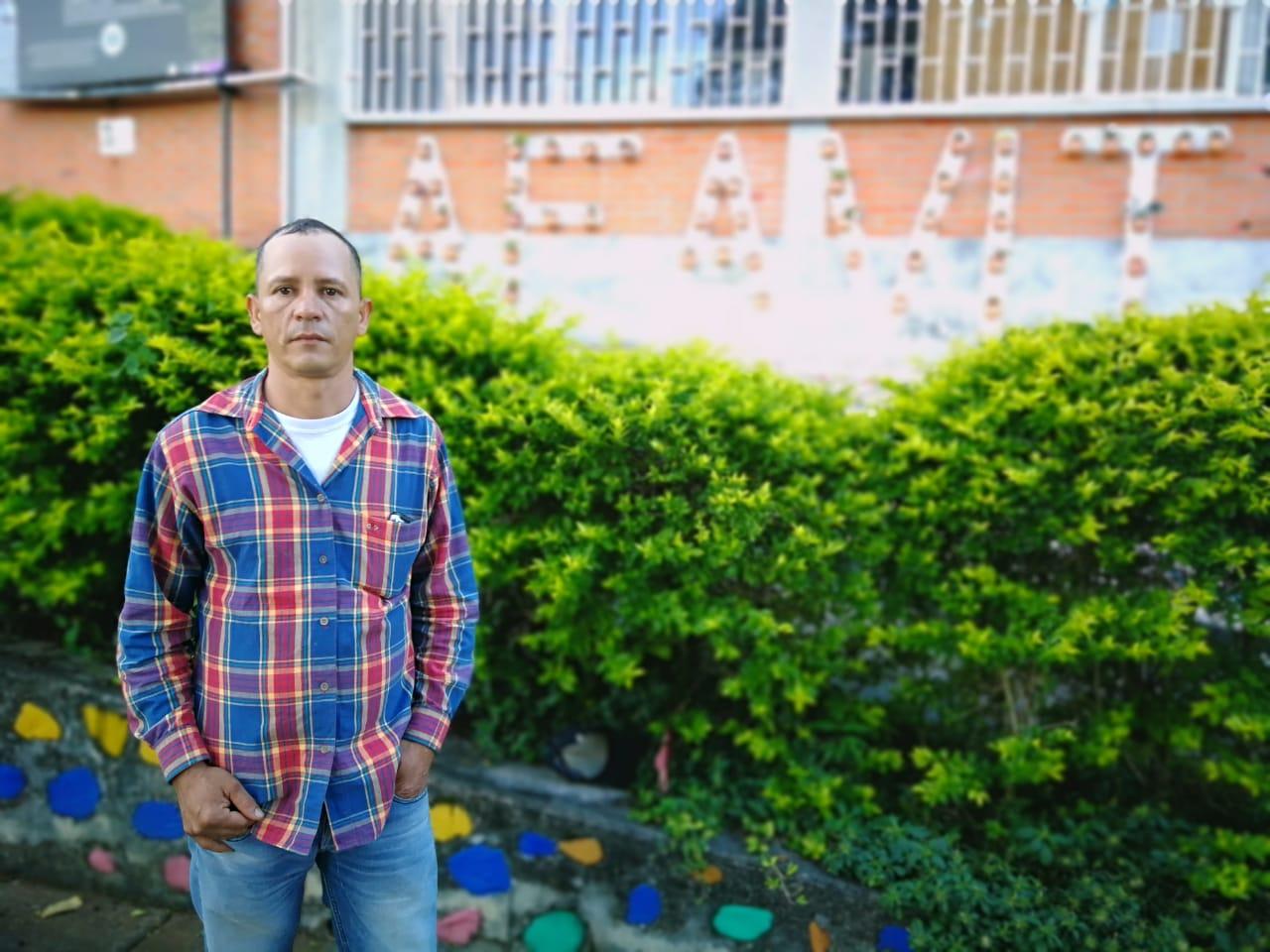 Aldenivier Cano, miembro de la Junta Directiva de Afavit. Foto: Miguel Ángel Cortés.
