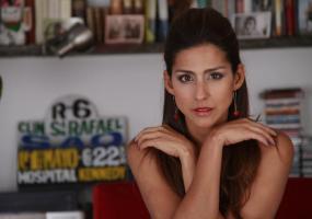 La cantante y actriz Aida Bossa. Foto: Facebook Aida Bossa.