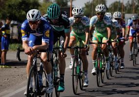 Actividad de la primera etapa de la Vuelta a San Juan 2018. En la foto: Álvaro Hodeg. Foto: Colprensa. Febrero 2018.
