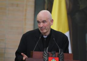 Monseñor Luis Augusto Castro Quiroga. Foto: Colprensa. Junio 2017.