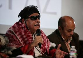 Jesús Santrich, miembro de las Farc en la Comisión de Seguimiento de Impulso y Verificación de la Implementación de los acuerdos de paz. Foto: Colprensa. Mayo 2017.