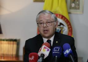 José Luis Barceló, presidente de la Corte Suprema de Justicia. Foto: Colprensa. Febrero 2018.