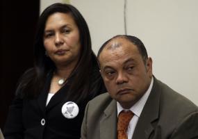 Padres del joven fallecido Luis Andrés Colmenares. Foto: Colprensa
