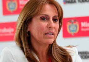 Griselda Restrepo, ministra de Trabajo. Foto: Presidencia de la República.