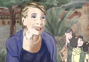 Imagen: Pantallazo del tráiler de segunda temporada de 'Cuentos de viejos'.