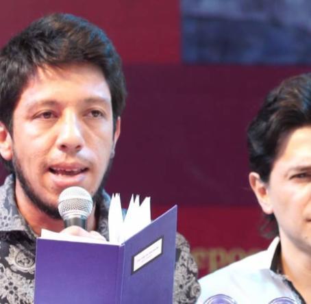 Foto: Imagen video YouTube Festival Internacional de Poesía de Medellín - Desorbita.