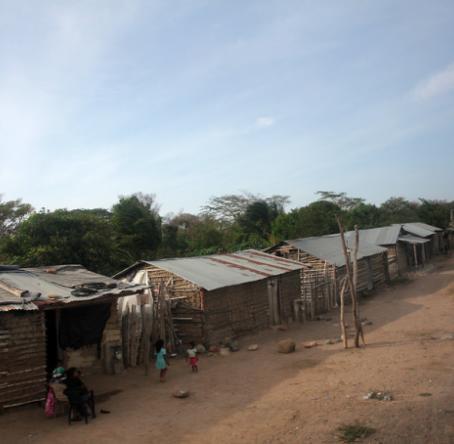 El departamento de La Guajira, en el norte del país, ha sido una de las zonas más afectadas por la falta de agua. Foto: Colprensa