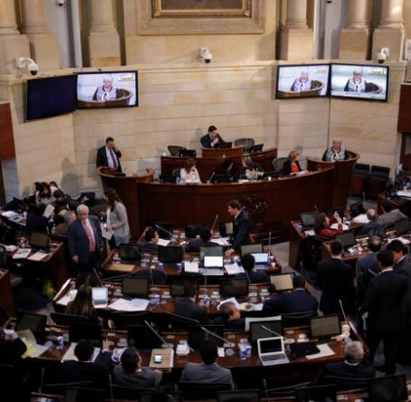 Sesión Congreso de la República. Foto: Colprensa