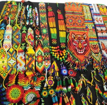 Artesanías de comunidades indígenas de Nariño. Foto: Janeth Jurado