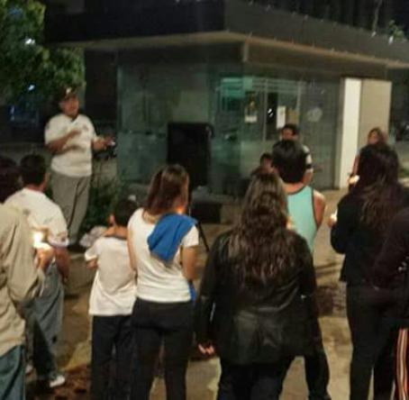 : Alba Pereira se reúne con sus compatriotas en varios sectores de la ciudad, para buscar alternativas por su estadía en Bucaramanga.