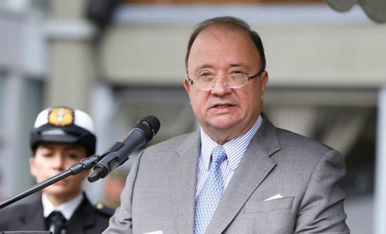 Ministro de Defensa., Luis Carlos Villegas. Foto: Colprensa