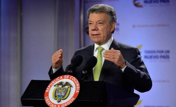 Foto Juan Manuel Santos  Presidencia de la República.