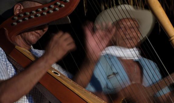 Los 'Cantos de trabajo del llano colombo-venezolano' ya fueron reconocidos por la Unesco como Patrimonio Cultural Inmaterial Mundial. Foto: Colprensa - MinCultura. Marzo 2018.