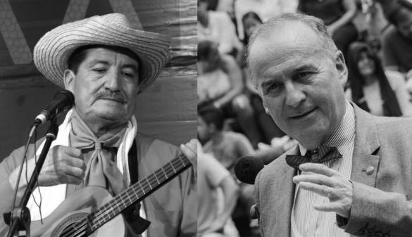 Carlos Julio Mosquera (izq.) y Carlos Arturo Marín (Der.)