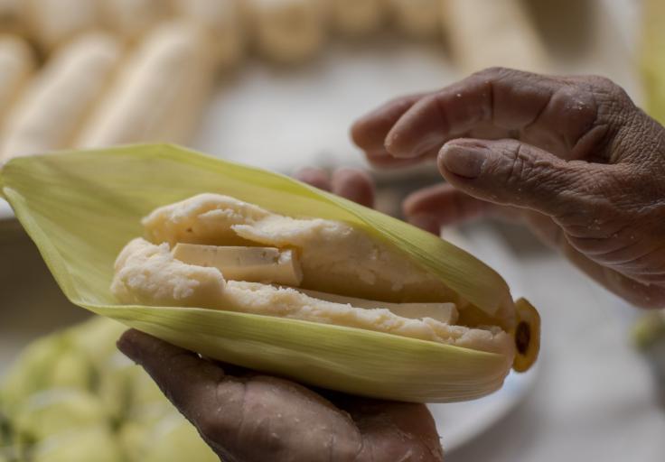 Bollo limpio con queso / Foto: Secretaría de Cultura del Atlántico.
