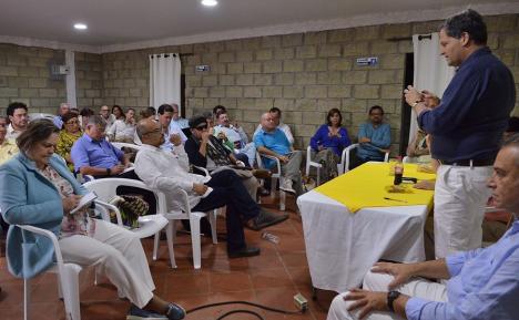 n Turbaco estuvieron reunidos las delegaciones del gobierno y las Farc para evaluar el avance del cumplimiento de los acuerdos. Foto: Colprensa