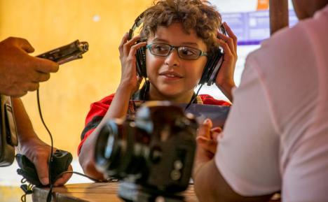 Adolfo Bustillo, dirigió su primer cortometraje a los 11 años. Foto: Fundación Festicinekids.