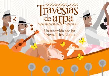 Travesías de arpa, un recorrido por las líricas de los Llanos