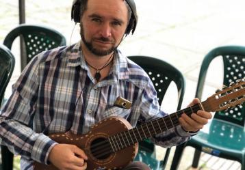 Raúl Ariza. Foto: Laura Ramírez.