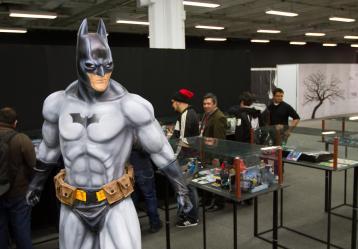 La exposición de Batman es una de las más visitadas en SOFA 2014
