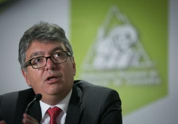 El Ministro de Hacienda y Crédito Público, Mauricio Cárdenas Santamaría. Foto:  Ministerio de Hacienda
