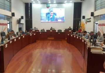 Foto: Concejo de Manizales.