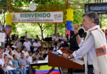 Foto: Juan David Tena - SIG (Tomada de presidencia.gov,co)